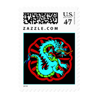 Stamp Chinese Year Of The Dragon Zodiac