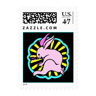 Stamp Chinese Year Of The Hare Rabbit in Zodiac