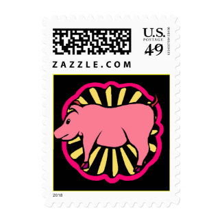 Stamp Chinese Year Of The Pig Boar within Zodiac