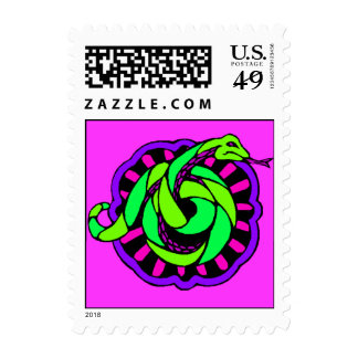 Stamp Chinese Year Of The Snake within Zodiac