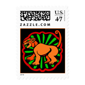 Stamp Chinese Year Of The Tiger Cat within Zodiac
