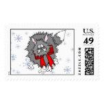 Stamp - Christmas Crazy Cat