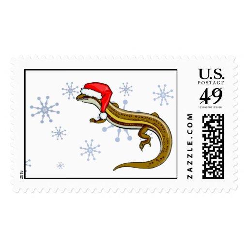 Stamp - Christmas Skink