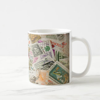 Stamp Collection Hobby Classic White Coffee Mug