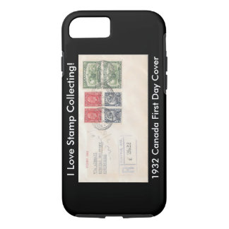 Stamp Collectors iPhone Case 1932 Canada FDC