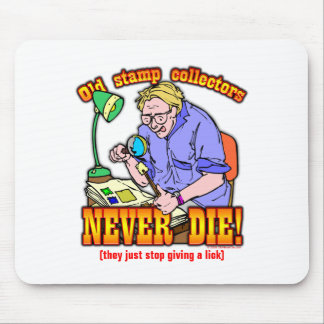 Stamp Collectors Mouse Pad