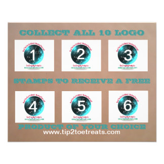 Stamp Coupon Book Flyer