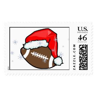 Stamp - Football Santa