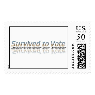 Stamp for Survived to Vote