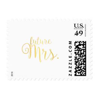 Stamp - future Mrs. golden