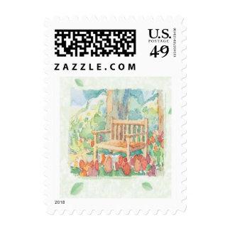 Stamp-Garden Bench