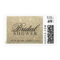 Stamp - Gold Glit Bridal Shower