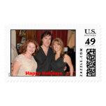 Stamp, Happy Holidays