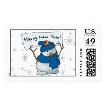 Stamp - Happy New Year!