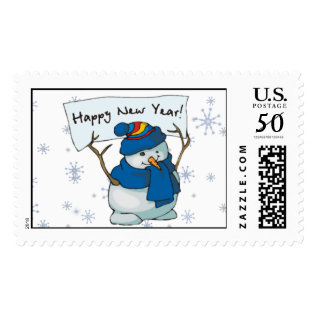 Stamp - Happy New Year! at Zazzle
