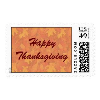 Stamp - Happy Thanksgiving