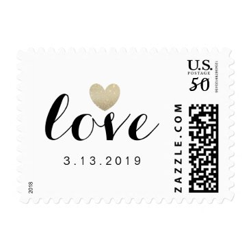 Valentines Themed Stamp - Heart Fab Bride to Be