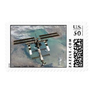 Stamp / International Space Station.