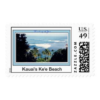 Stamp-Kauai's Ke'e Beach Postage