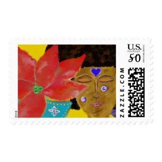 Stamp Meditation, Deep Thought