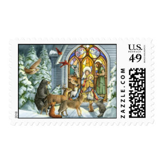 Stamp  - Nativity at Zazzle