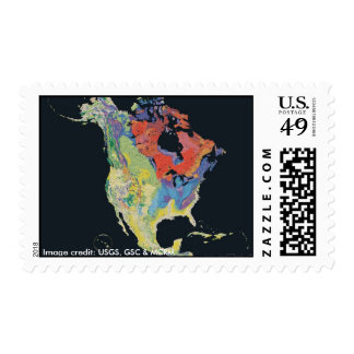 Stamp /  North American Geology