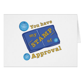 Stamp Of Approval Card