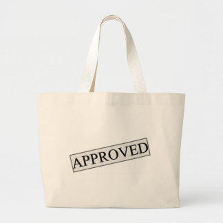 Stamp of Approval Jumbo Tote Bag
