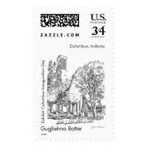 Stamp of Columbus, Indiana