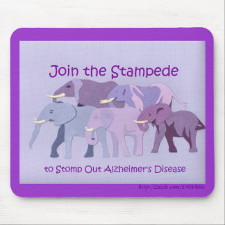 Stamp Out Alzheimer's Mouse Pad