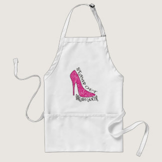 Stamp Out Breast Cancer Adult Apron