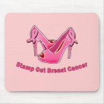Stamp Out Breast Cancer Stilettos Mousepads