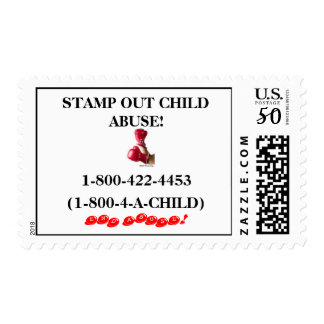 STAMP OUT CHILD ABUSE!