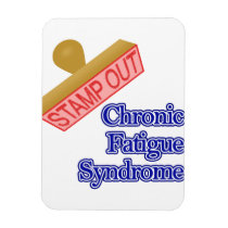 Stamp Out Chronic Fatigue Syndrome Magnet
