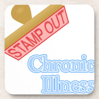 Stamp Out Chronic Illness Drink Coaster