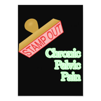 Stamp Out Chronic Pelvic Pain Custom Invites