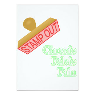Stamp Out Chronic Pelvic Pain Invitations