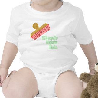 Stamp Out Chronic Pelvic Pain Baby Bodysuits