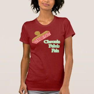 Stamp Out Chronic Pelvic Pain Tshirt