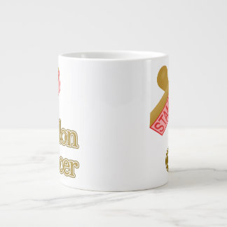 Stamp Out Colon Cancer Giant Coffee Mug