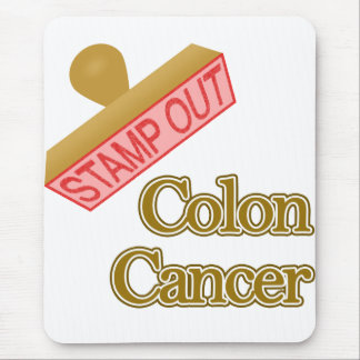 Stamp Out Colon Cancer Mouse Pad