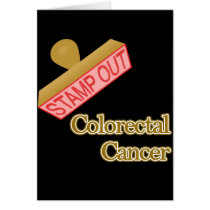 Stamp Out Colorectal Cancer Card