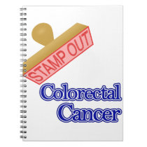 Stamp Out Colorectal Cancer Notebook
