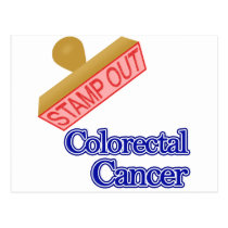 Stamp Out Colorectal Cancer Postcard