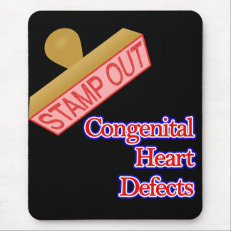 Stamp Out Congenital Heart Defects Mouse Pad