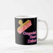 Stamp Out Congenital Heart Defects Mugs