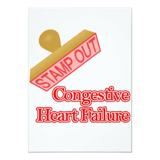 Stamp Out Congestive Heart Failure Card