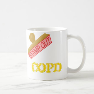 Stamp Out COPD Coffee Mug