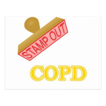 Stamp Out COPD Postcard