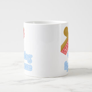 Stamp Out Cushing Syndrome Giant Coffee Mug
